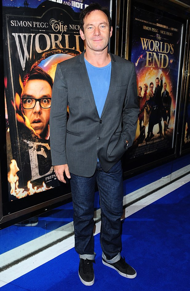 Jason Isaacs arriving for the world premiere of The World's End, at the Empire Leicester Square, London.