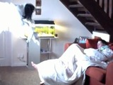 man terrifies girlfriend with ghost prank