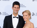 Novak Djokovic and Jelena Ristic, Novak Djokovic Foundation Gala Dinner, London, Britain - 08 Jul 2013