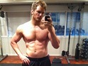 The actor shows off his physique for the lead role in Marvel sci-fi.