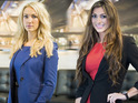 Luisa Zissman and Leah Totton battled it out in the boardroom.