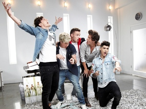 Niall Horan, One Direction in 'Best Song Ever' video