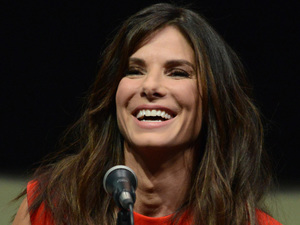 "Sandra Bullock attends the ""Gravity"" panel on Day 4 of Comic-Con"
