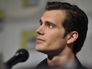 "Henry Cavill attends the ""Superman"" 75th Anniversary panel."