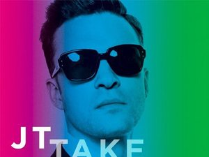 Justin Timberlake 'Take Back the Night' single artwork.