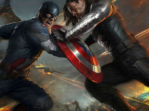 'Captain America' comic-con poster