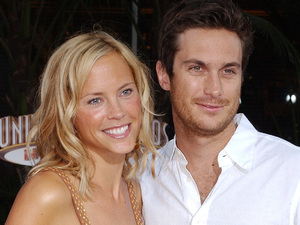 Oliver Hudson and Erinn Bartlett