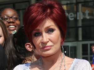 Sharon Osbourne arriving at The X Factor 2013 auditions at Wembley Stadium