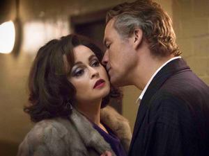 Helena Bonham Carter as Elizabeth Taylor and Dominic West as Richard Burton in 'Burton and Taylor'