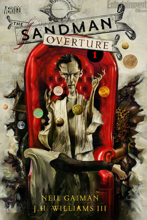 Dave McKean's variant cover for Sandman: Overture