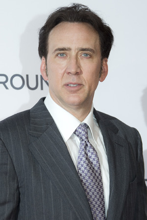 Nicolas Cage, arrives for the UK premiere of The Frozen Ground, at a central London cinema, Wednesday, July 17, 2013