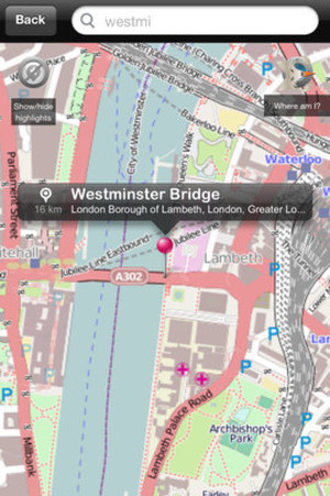 tripwolf Offline City Maps on iOS