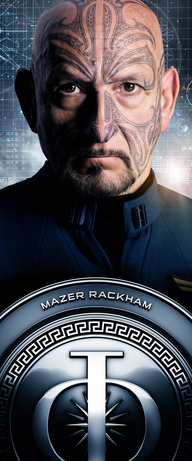 Ender's Game Characters Banners: Mazer Rackham