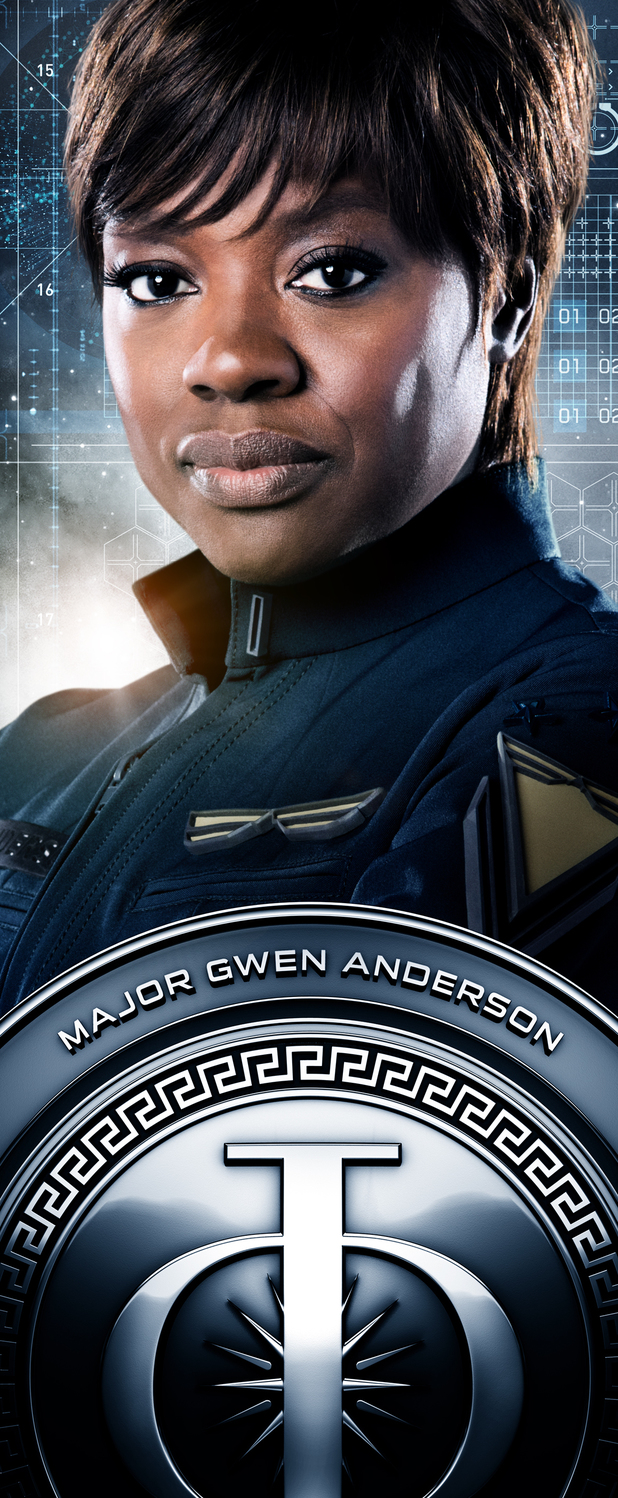 Ender's Game Characters Banners: Major Gwen Anderson