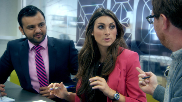Zeeshaan Shah and Luisa Zissman on 'The Apprentice' series 9 finale