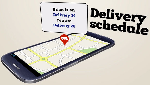 Follow My Parcel real-time tracking service