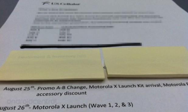 Motorola X date