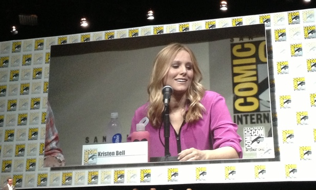 Kristen Bell at the 'Veronica Mars' Comic-Con panel
