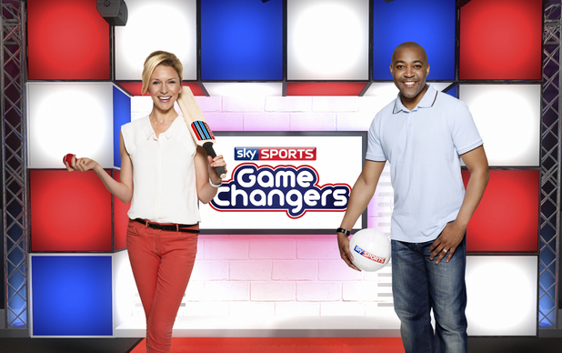 Game Changers presenters Di Dougherty and Darren Campbell