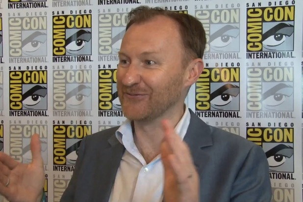 Mark Gatiss discusses Sherlock at Comic-Con 2013.