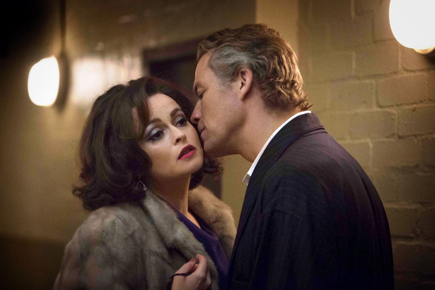 Helena Bonham Carter as Elizabeth Taylor and Dominic West as Richard Burton in 'Burton and Taylor'