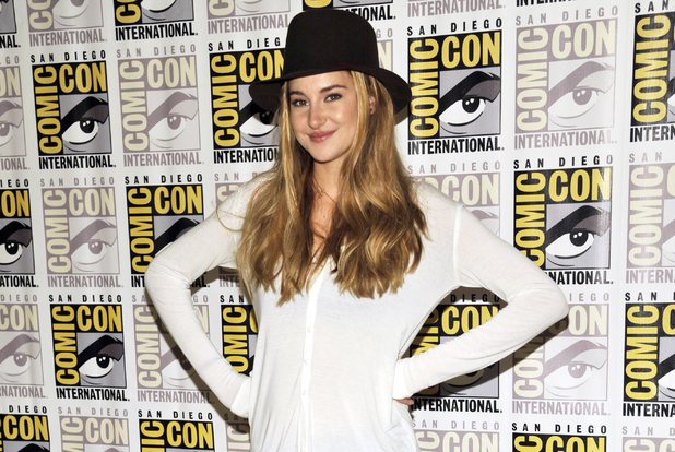Shailene Woodley at the 'Divergent' press event during Comic-Con 2013