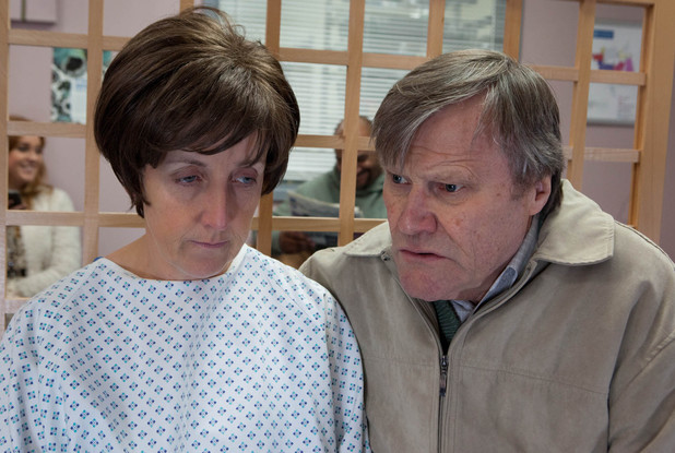 Hayley Cropper is diagnosed with cancer