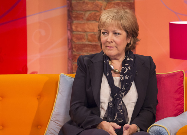 Lynda Bellingham on ITV's 'Lorraine' ~~ June 11, 2013