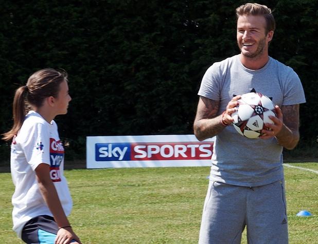 David Beckham on Game Changers