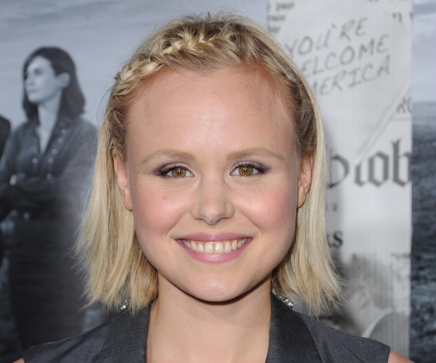 "Alison Pill, The Season 2 Premiere of The HBO Series ""The Newsroom"""