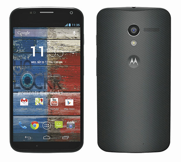Purported press shot of the Moto X