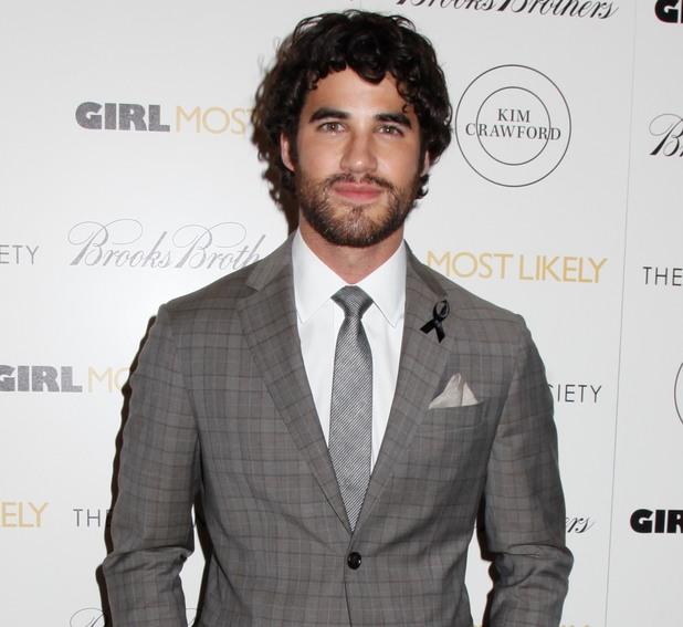 Darren Criss at the 'Girl Most Likely' film screening at The Cinema Society, New York, America