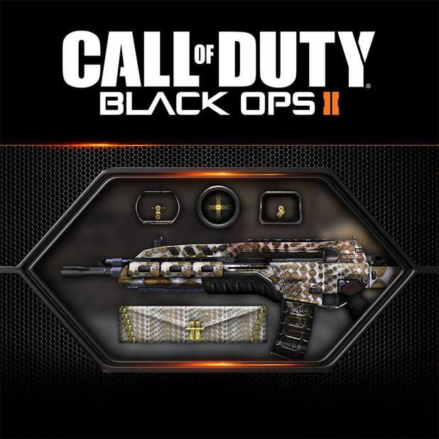 The Black Ops 2 GLAM personalisation pack