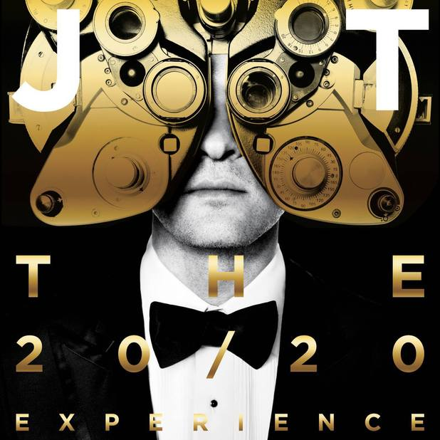 Justin Timberlake 'The 20/20 Experience' vol 2 artwork.