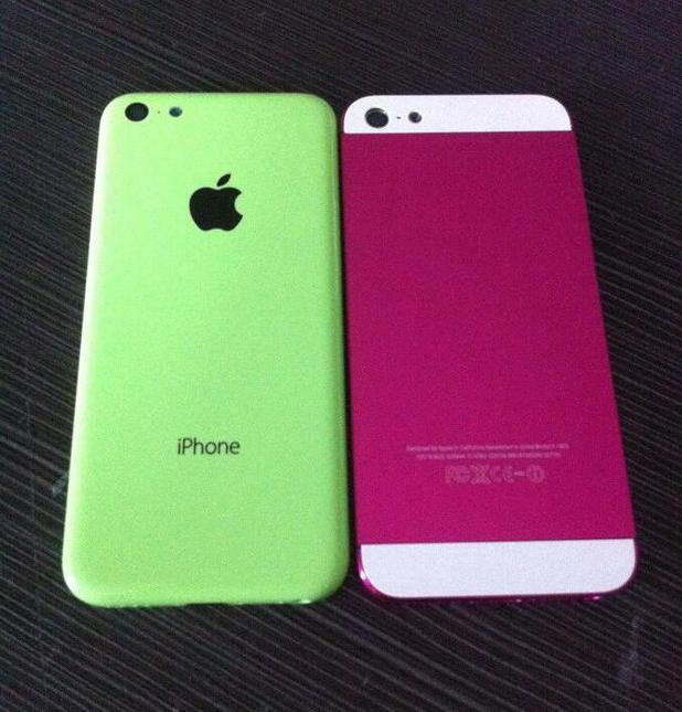 Purported leaked image of Apple's budget iPhone