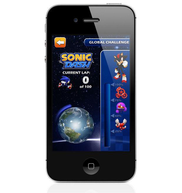 Sonic Dash Global challenge