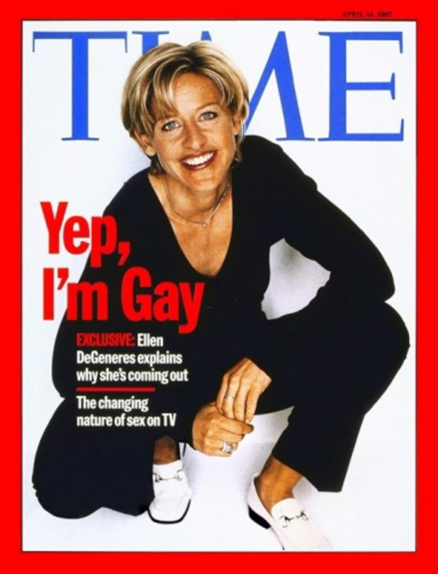 Time magazine, Ellen DeGeneres