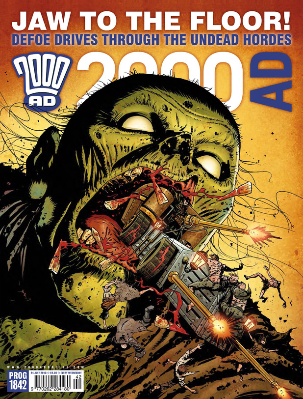 '2000 AD' Prog Report 1842 cover
