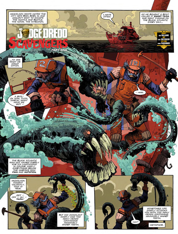 Judge Dredd: Scavengers Part 1