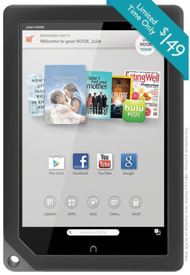 Nook HD tablets gallery