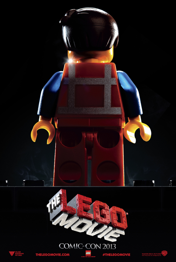 'The LEGO Movie' Comic-Con poster