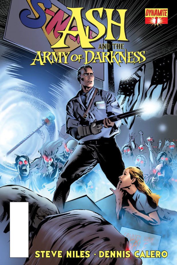 Cover illustration for Ash and the Army of Darkness #1