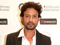 Irrfan Khan attends an 'In Conversation' with Asif Kapadia as part of LIFF