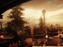 The open-world game's setting features iconic landmarks such as the Space Needle.