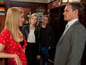 Leanne fears that Eva is Nick's other woman in Coronation Street tonight.