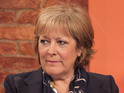 Lynda Bellingham leaves A Passionate Woman to concentrate on her recovery.