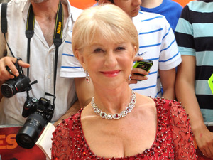 Helen Mirren, Red 2 UK film premiere held at the Empire Cinema in Leicester Square, Jenny Packham dress