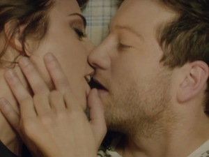 Matt Cardle and Melanie C in 'Loving You' music video.