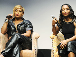 TLC Press Conference, New York, America - 25 Jul 2013Tionne Watkins (T-Boz) and Rozonda Thomas (Chilli)