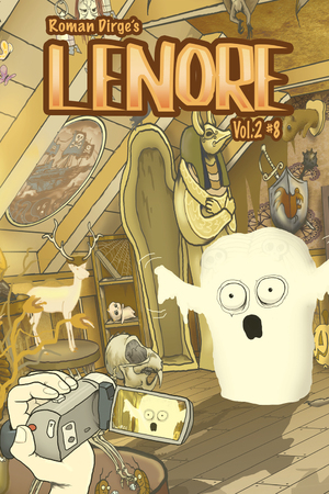 Roman Dirge's 'Lenore' #8 - Cover A/Cover B/page